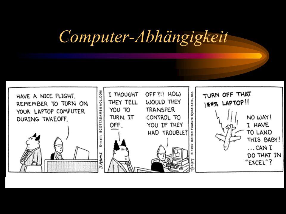 Computer-Abhängigkeit
