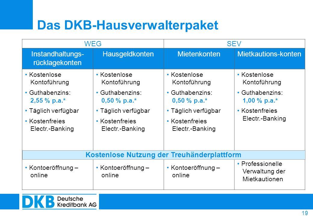 Das DKB-Hausverwalterpaket
