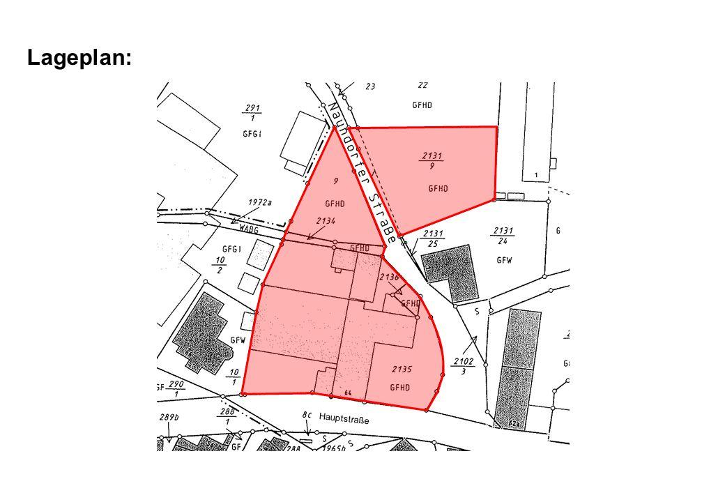Lageplan: Hauptstraße