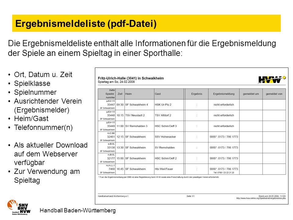 Ergebnismeldeliste (pdf-Datei)
