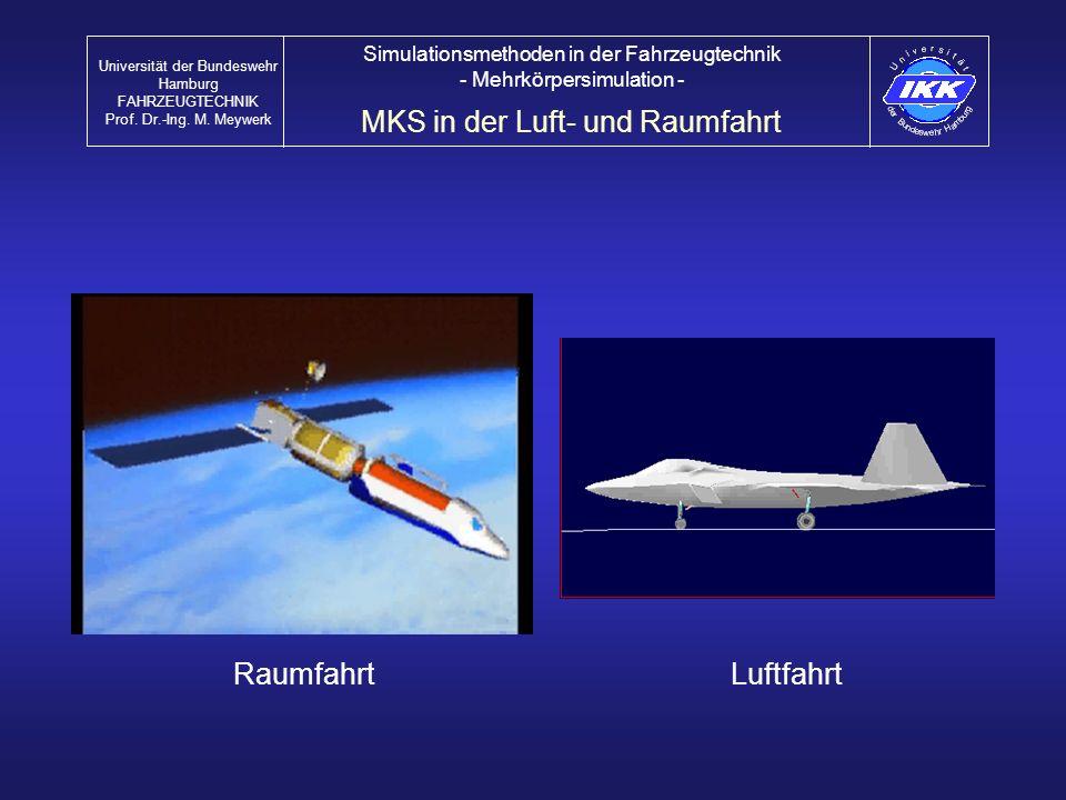 MKS in der Luft- und Raumfahrt
