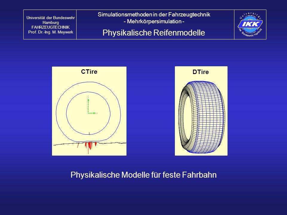 Physikalische Reifenmodelle