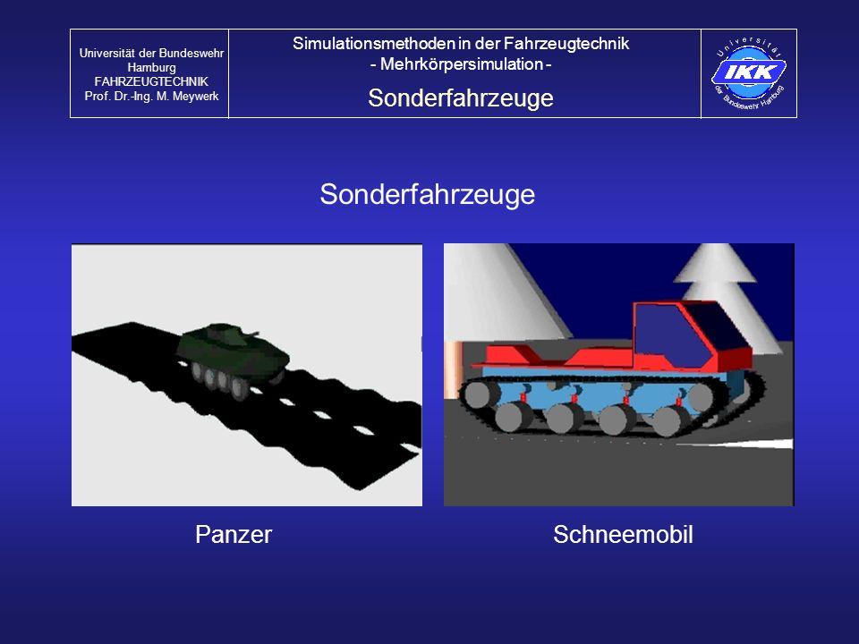 Sonderfahrzeuge Sonderfahrzeuge Panzer Schneemobil
