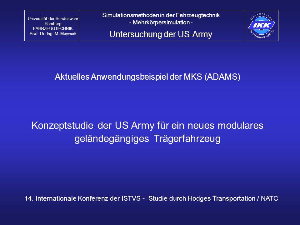Konzeptstudie der US Army für ein neues modulares