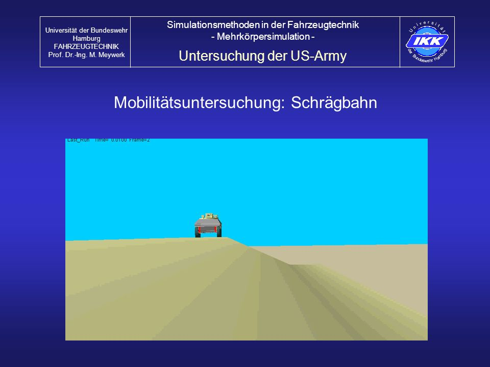 Mobilitätsuntersuchung: Schrägbahn