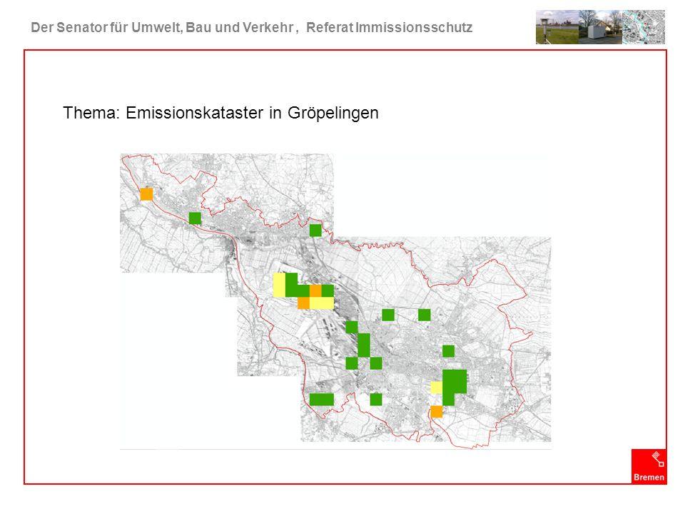 Thema: Emissionskataster in Gröpelingen