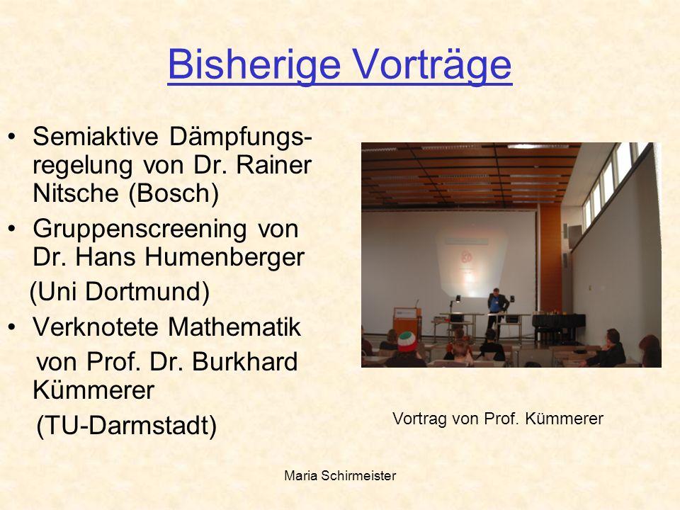 Vortrag von Prof. Kümmerer