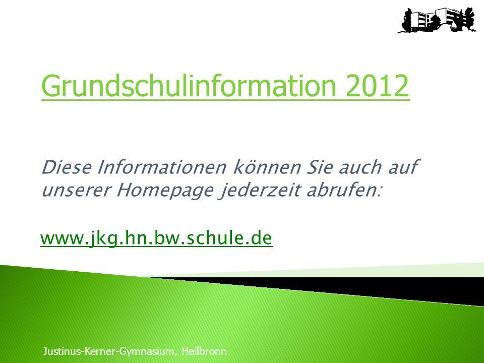 Grundschulinformation 2012