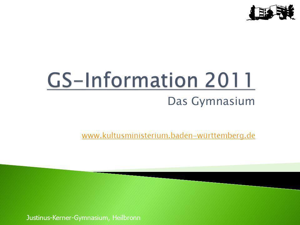 Das Gymnasium www.kultusministerium.baden-württemberg.de