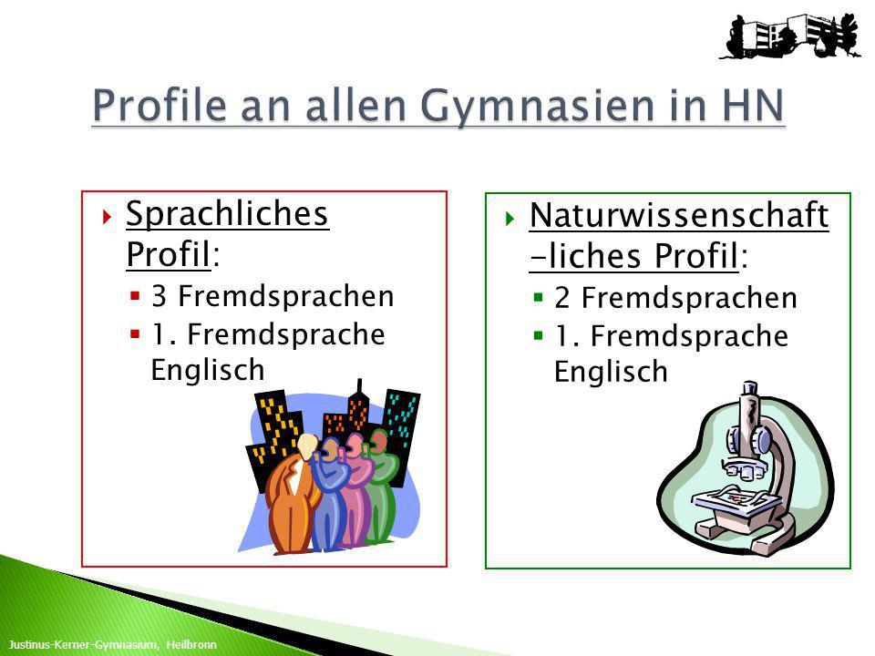 Profile an allen Gymnasien in HN