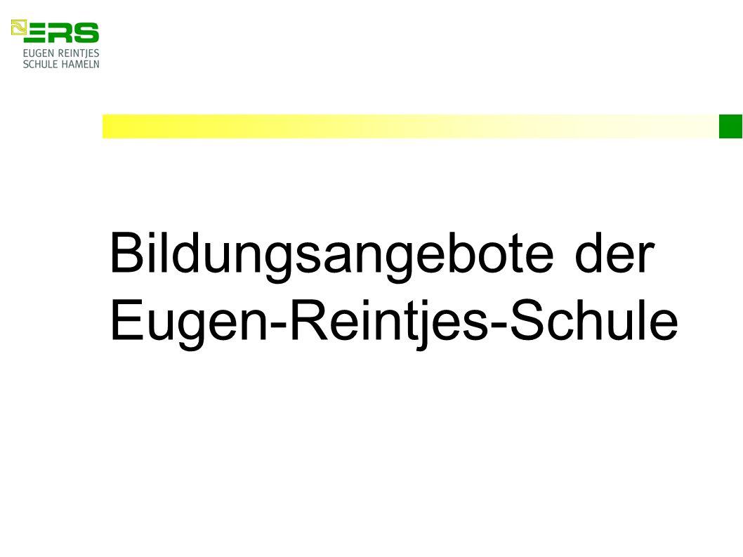 Bildungsangebote der Eugen-Reintjes-Schule