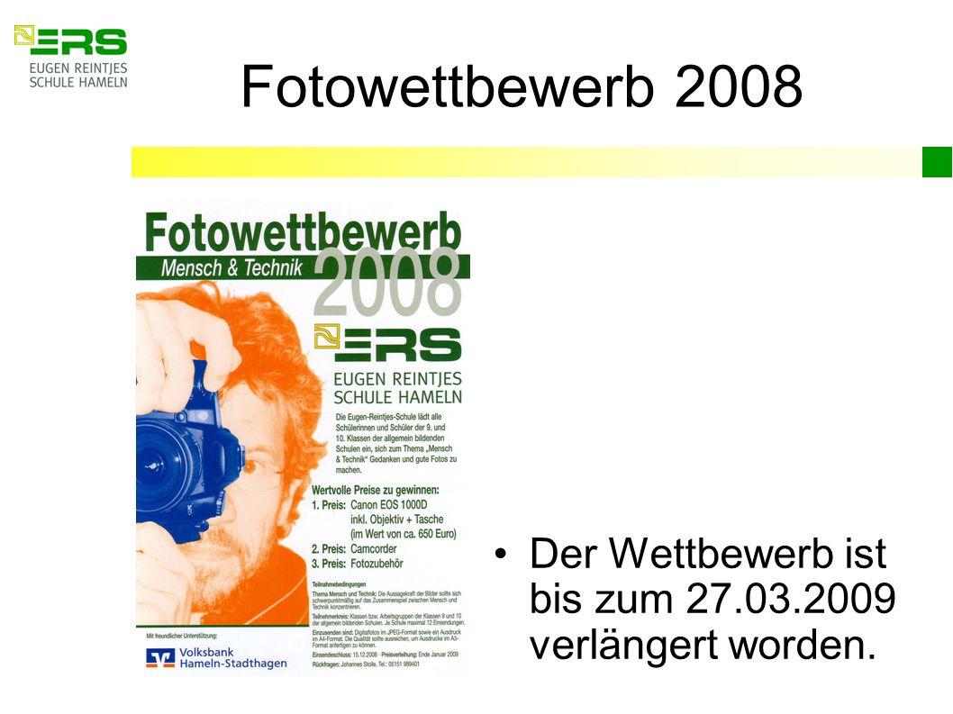 Fotowettbewerb 2008 Der Wettbewerb ist bis zum 27.03.2009 verlängert worden.