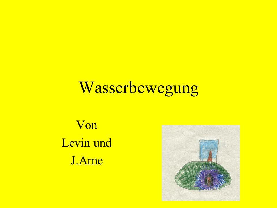 Wasserbewegung Von Levin und J.Arne