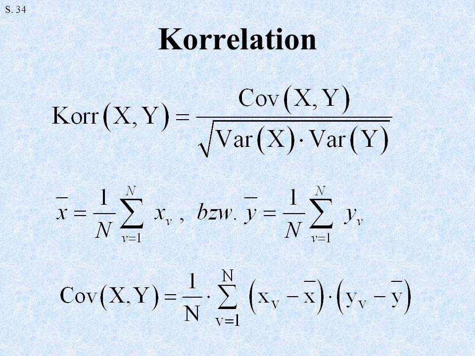 S. 34 Korrelation