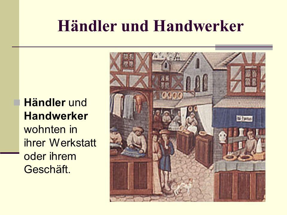 Händler und Handwerker