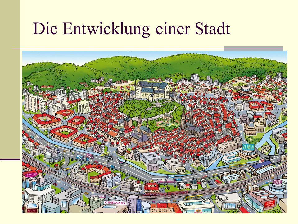 Die Entwicklung einer Stadt