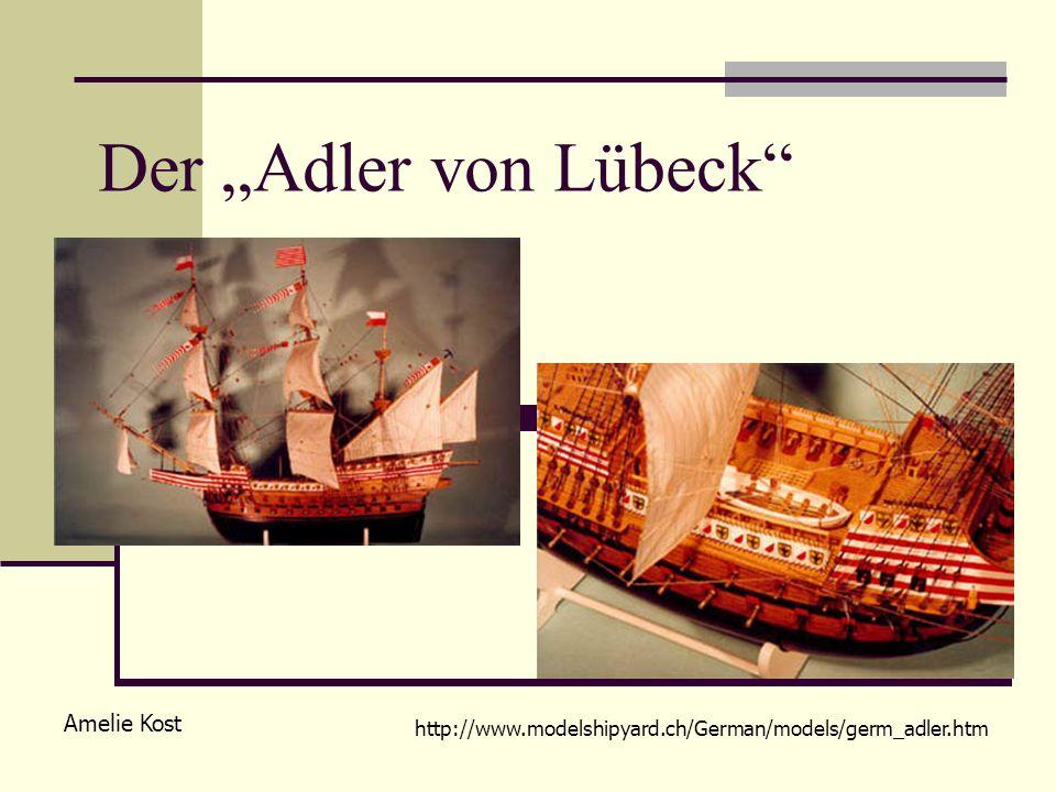 """Der """"Adler von Lübeck Amelie Kost"""