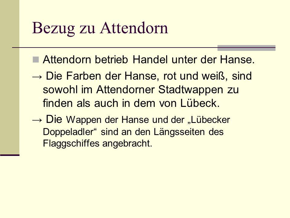 Bezug zu Attendorn Attendorn betrieb Handel unter der Hanse.