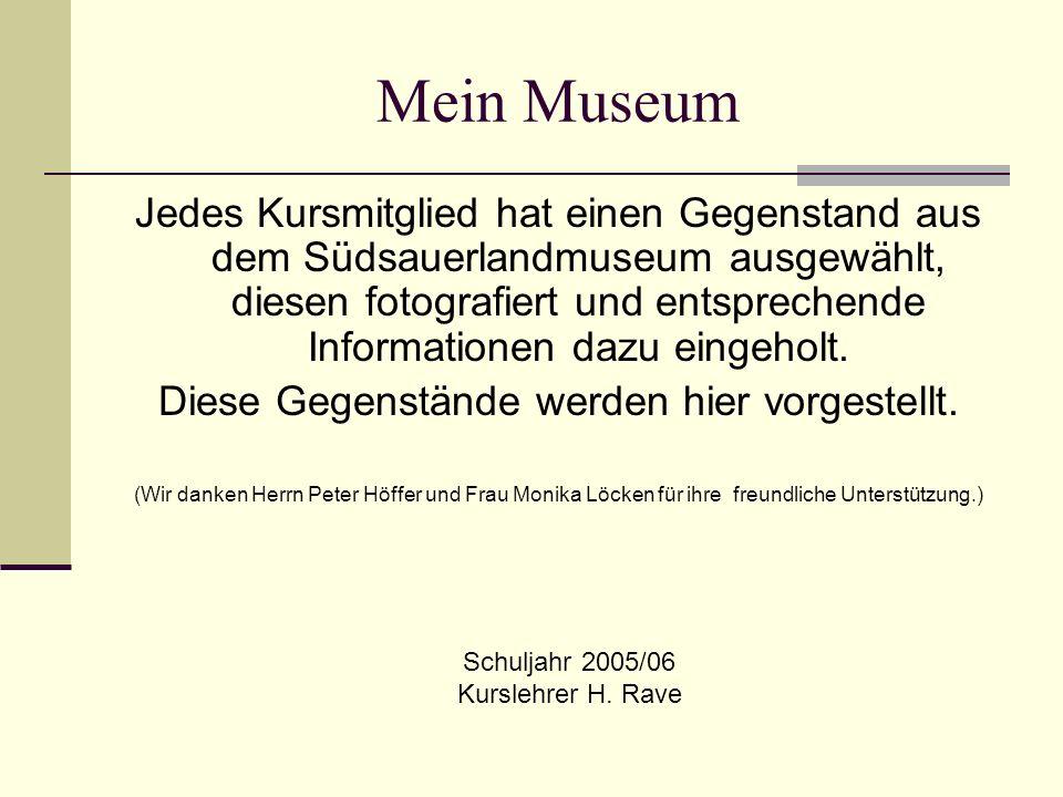 Mein Museum