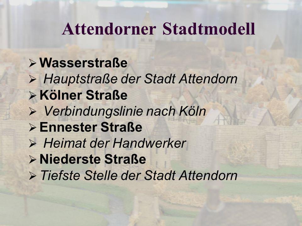 Attendorner Stadtmodell