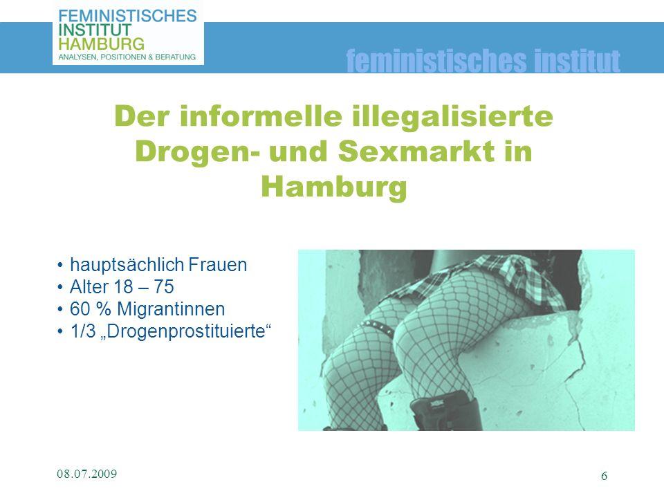 Der informelle illegalisierte Drogen- und Sexmarkt in Hamburg