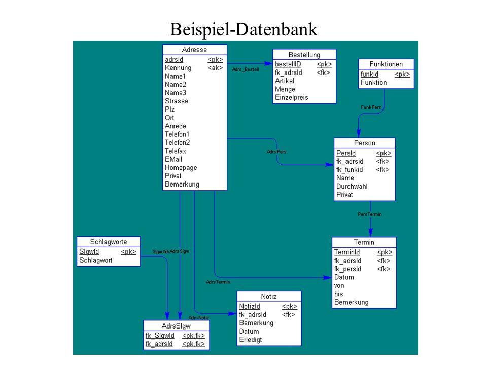 Beispiel-Datenbank