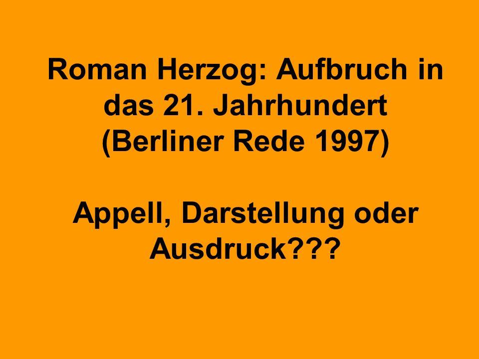 Roman Herzog: Aufbruch in das 21