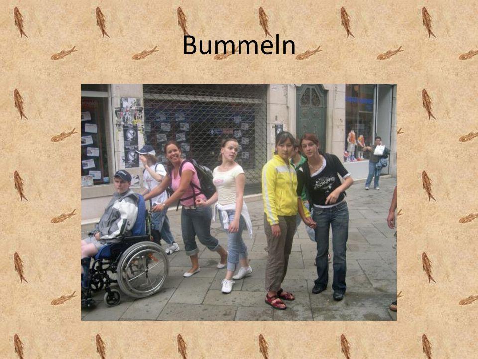 Bummeln