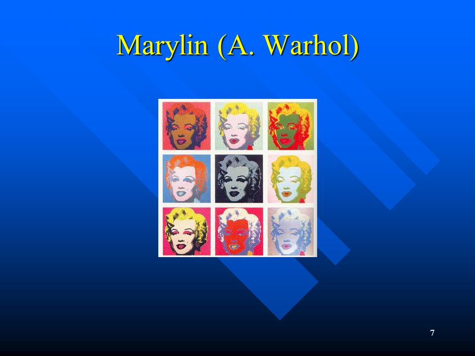 Marylin (A. Warhol)