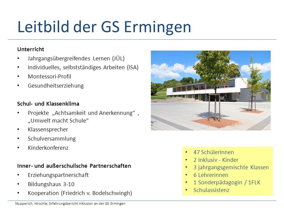 Leitbild der GS Ermingen