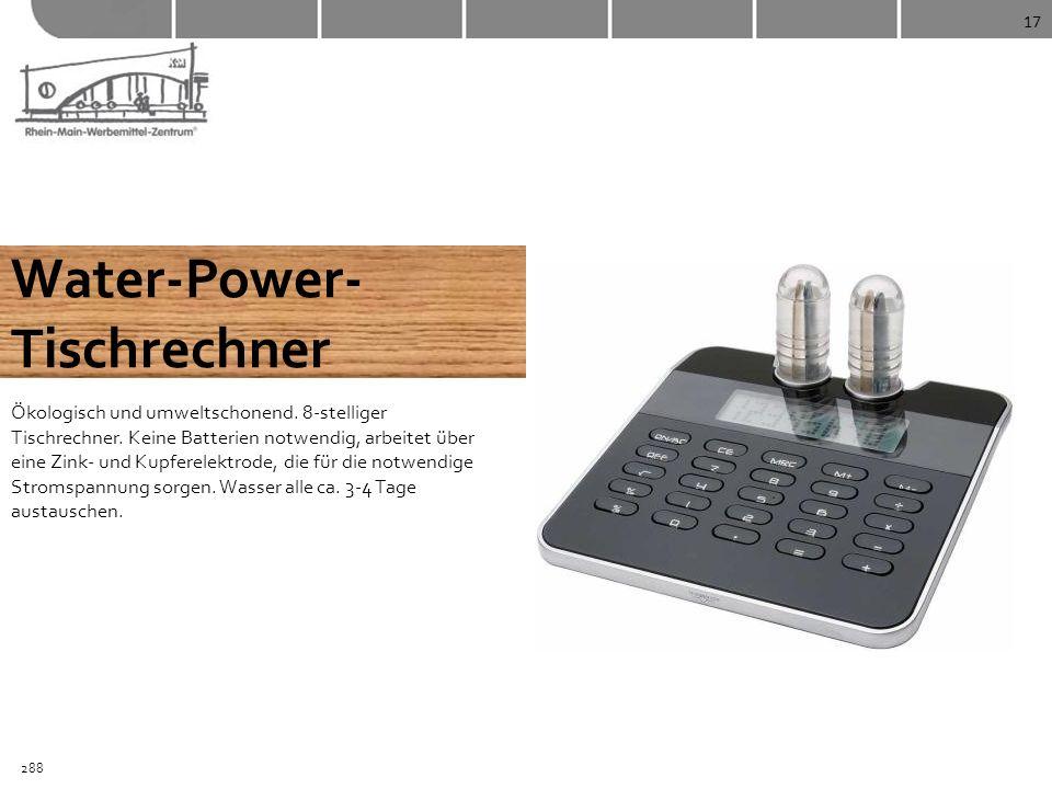 Water-Power- Tischrechner