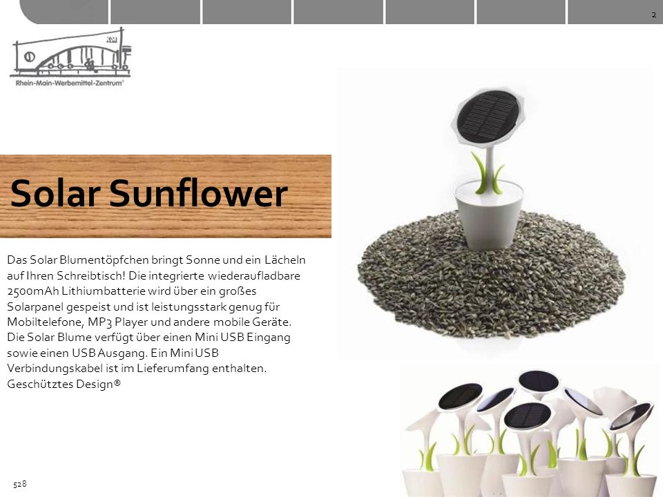 Solar Sunflower
