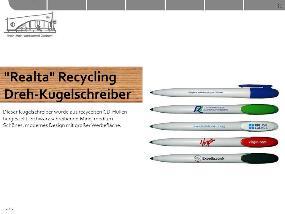 Realta Recycling Dreh-Kugelschreiber