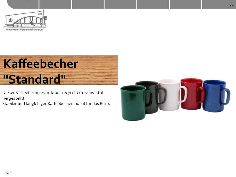 Kaffeebecher Standard
