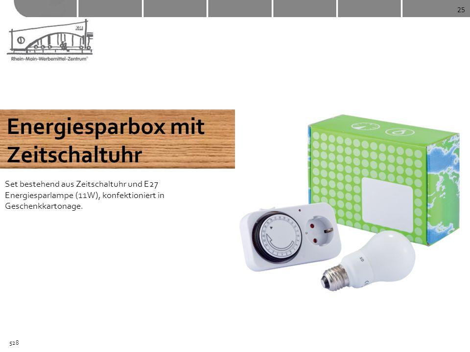 Energiesparbox mit Zeitschaltuhr