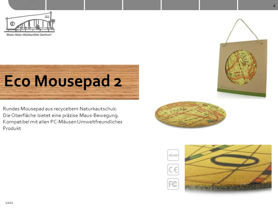 4 Eco Mousepad 2.