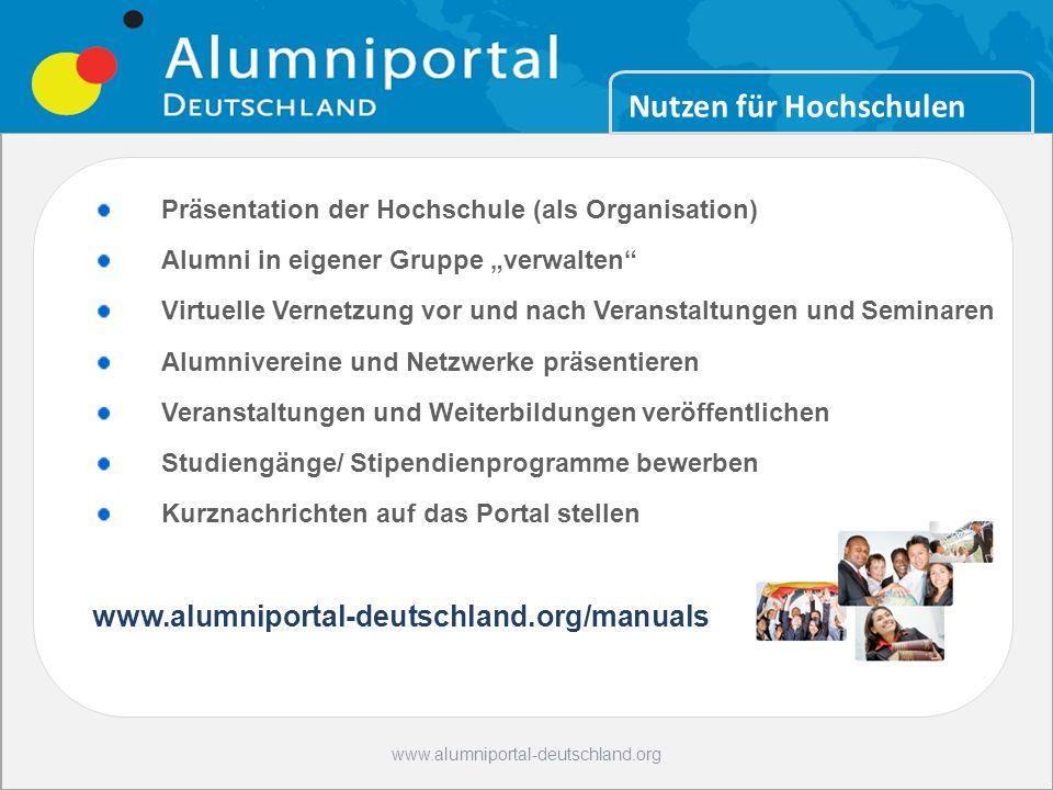 Bildung Nutzen für Hochschulen Hot Spot Germany