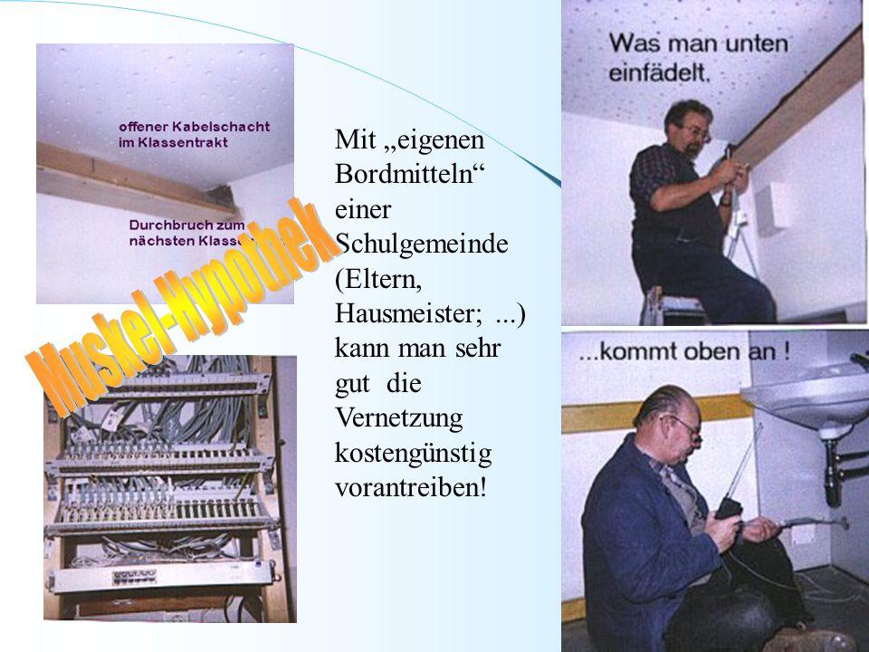 """Mit """"eigenen Bordmitteln einer Schulgemeinde (Eltern, Hausmeister;"""