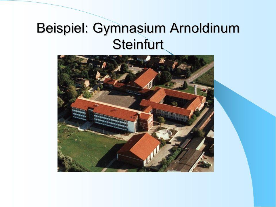 Beispiel: Gymnasium Arnoldinum Steinfurt