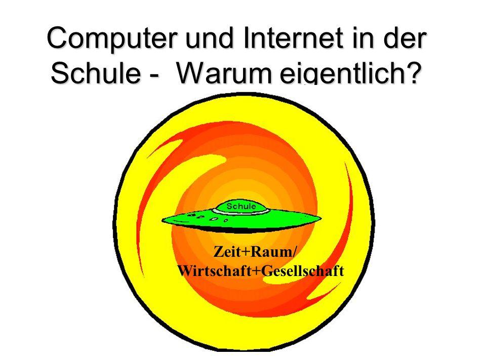 Computer und Internet in der Schule - Warum eigentlich
