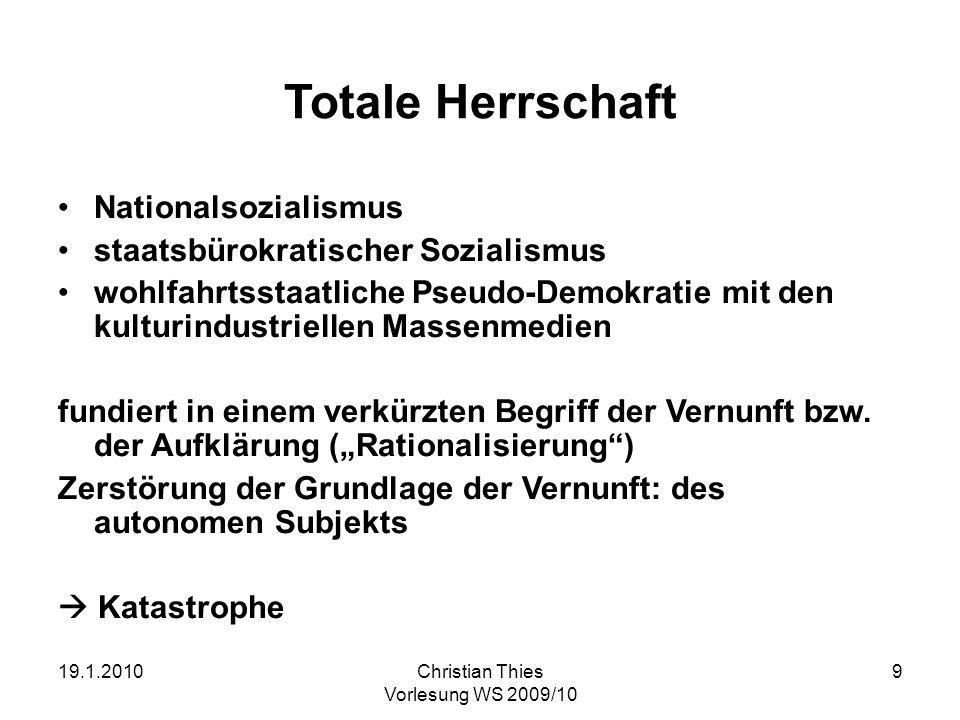 Totale Herrschaft Nationalsozialismus staatsbürokratischer Sozialismus