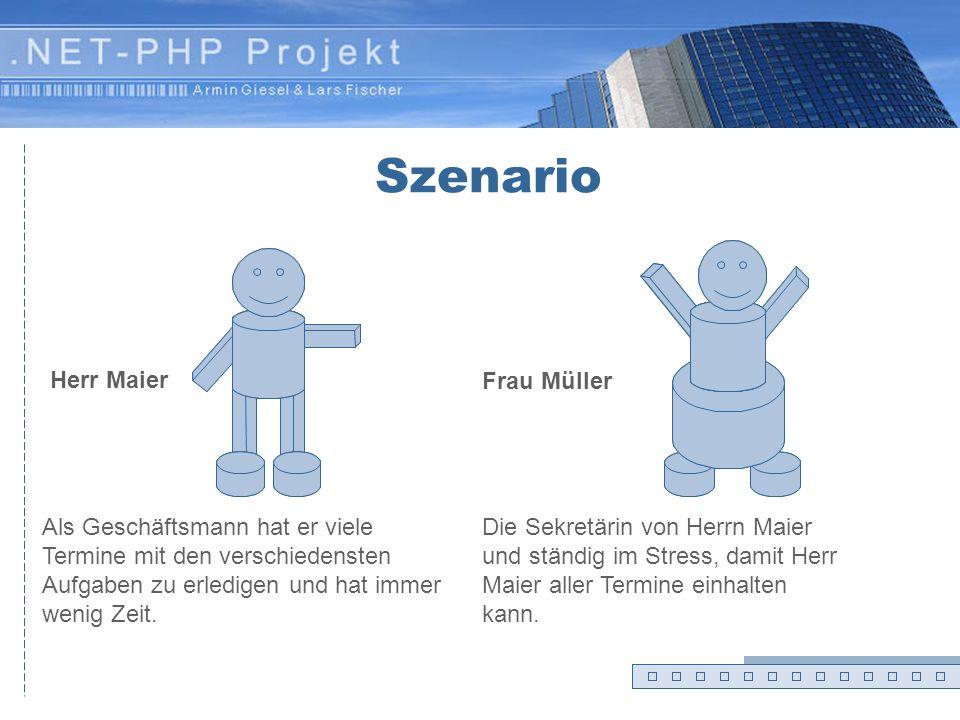 Szenario Herr Maier Frau Müller