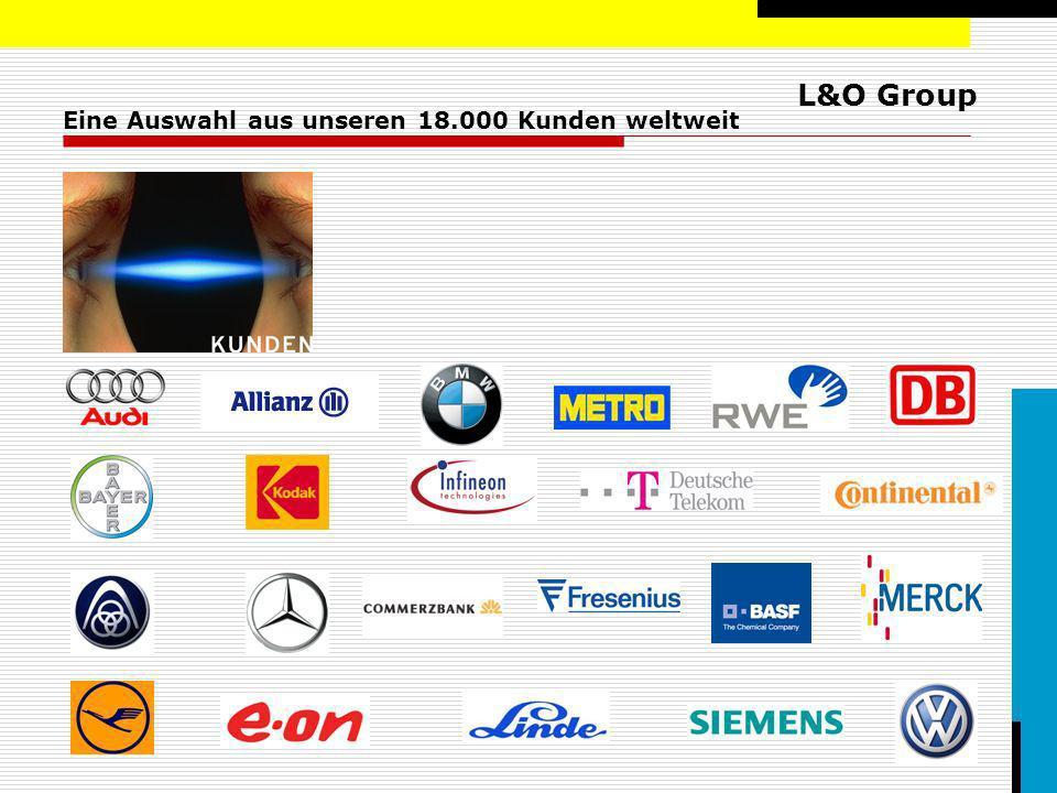 Eine Auswahl aus unseren 18.000 Kunden weltweit