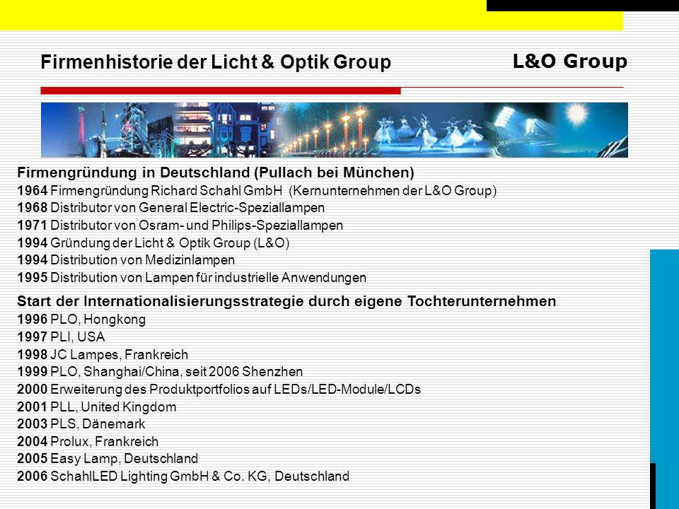 Firmenhistorie der Licht & Optik Group