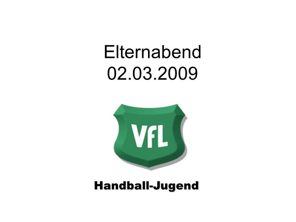 Elternabend 02.03.2009 Handball-Jugend