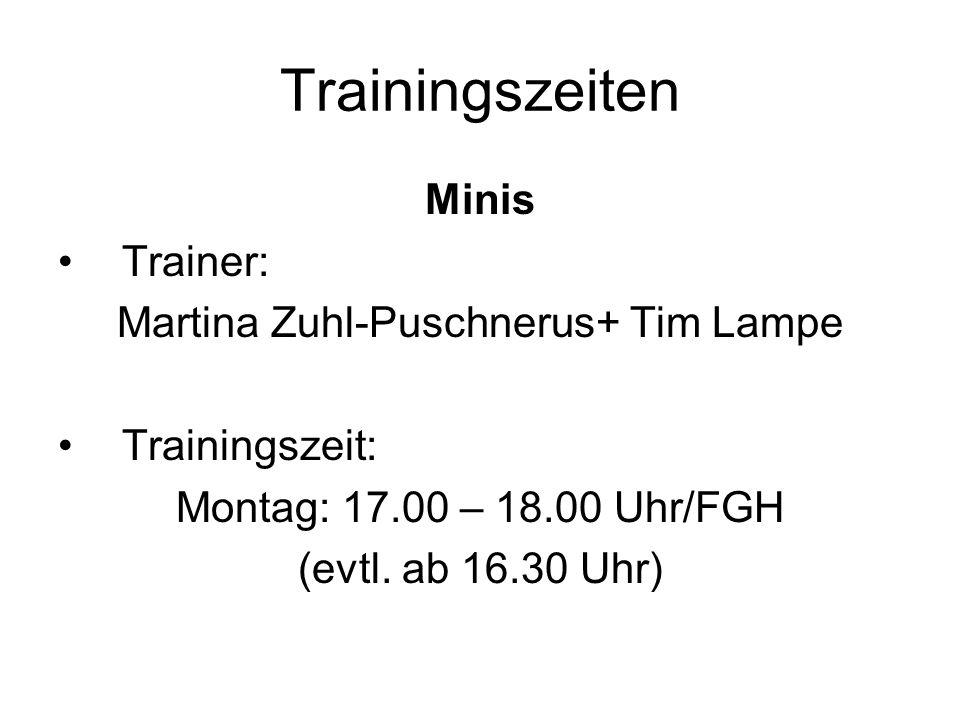 Martina Zuhl-Puschnerus+ Tim Lampe