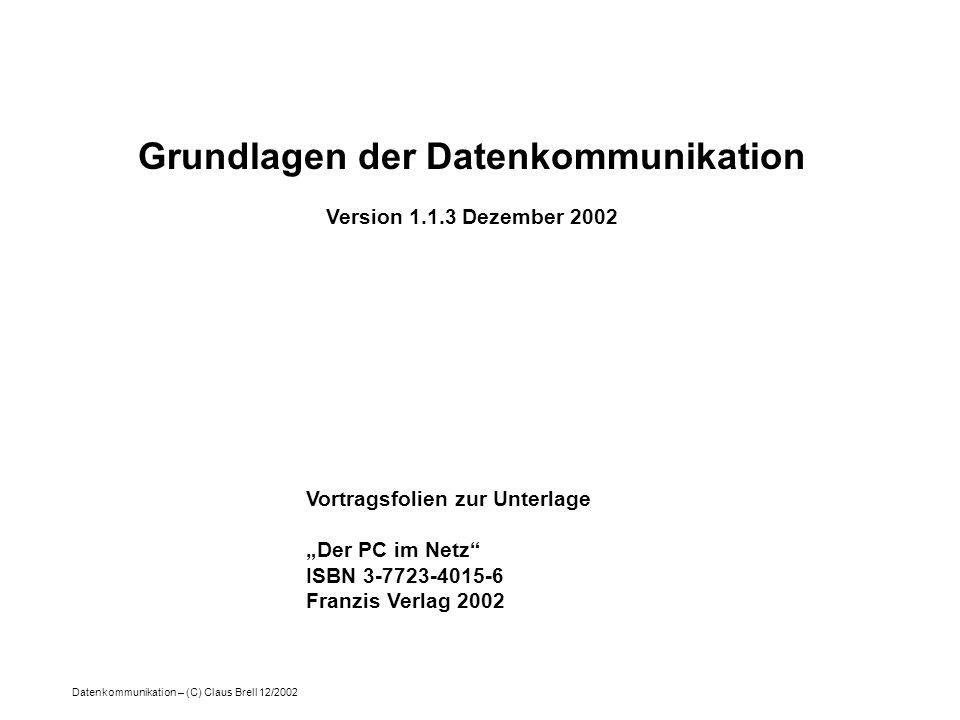 Grundlagen der Datenkommunikation