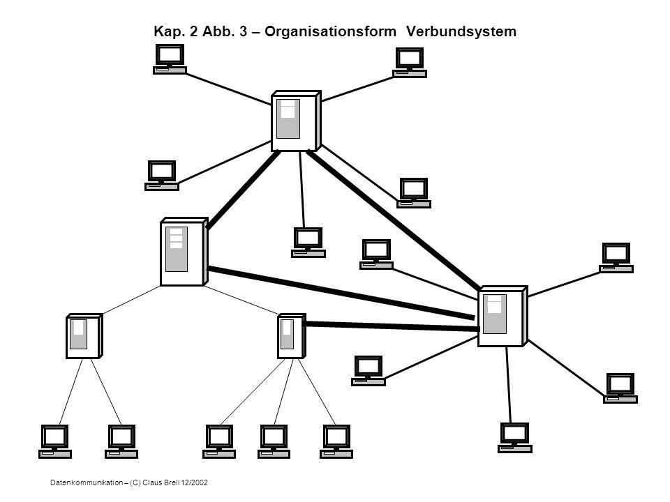 Kap. 2 Abb. 3 – Organisationsform Verbundsystem