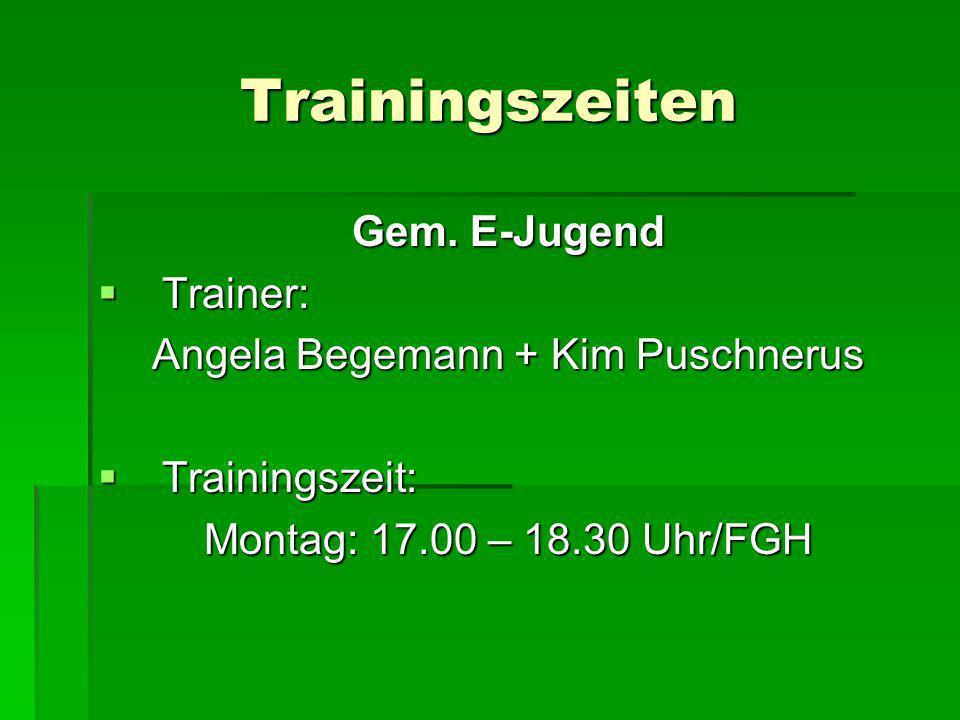 Angela Begemann + Kim Puschnerus