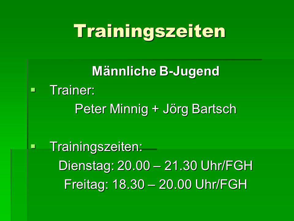 Peter Minnig + Jörg Bartsch